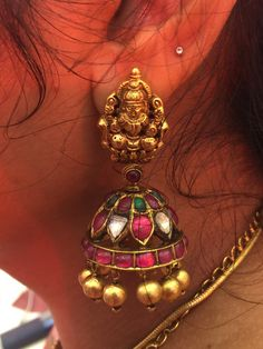 Antic Jewellery, India Jewelry, Temple Jewellery, Indian Wedding Jewelry, Bridal Jewelry, Gold Pendent, Latest Jewellery, Jewelry Patterns, Jewelry Collection