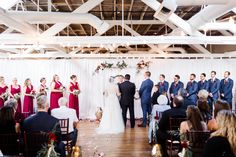 Sarah & James' September wedding at BridgeStreet | Planner: Magnolia Vine Events | Photography: AL Weddings | Florals: Dorothy McDaniels | Draping: On Site Productions