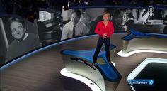 Zu Ehren von Robin Williams steigt Caren Miosga in den Tagesthemen auf den Tisch   Testspiel.de