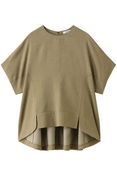 【エ ー ブ ー ル ル / ebure】 Triacetate Slab Blouse Womens Fashion · Clothing Store founy (Funny) F … - All About White Tshirt Outfit, Shirt Blouses, Shirts, Ethnic Dress, Mode Hijab, Western Dresses, Blouse Dress, Japan Fashion, Fashion Details