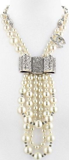 Chanel. - diamonds and pearls!
