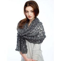 Free Intermediate Women's Shawl Crochet Pattern