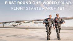 Todo listo para el primer vuelo del avión solar