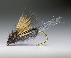 """Sparkle Emerger Dark. From """"http://itsabouttrout.se/"""""""