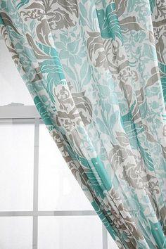 Bird Flourish Curtain from Urban Outfitters