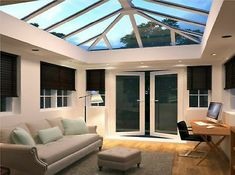 Our range of UPVC Roof Lanterns are ideal for the trade DIYer and Property Developers. Featuring multiple brands of UPVC Roof Lights, there will be an item to suit your need here. As a UPVC Roof Lantern Installer we only offer the highest quality of servi Garden Room Extensions, House Extensions, House Front Porch, House Roof, Front Porches, Orangerie Extension, Conservatory Extension, Roof Design, House Design