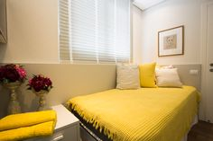 Quarto Pequeno de Solteiro - Apartamento Decorado Studium Saut
