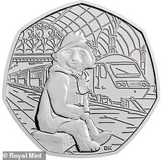 The Royal Mint has announced that two coins featuring Paddington Bear are entering circulation this month, in order to celebrate the anniversary of the character Us Coins, Rare Coins, Silver Coins, Mint Coins, English Coins, Fifty Pence Coins, Money Notes, 50p Coin, Paddington Bear