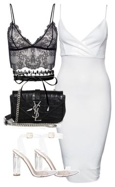"""Untitled #2336"" by theeuropeancloset on Polyvore featuring New Look, Yves Saint Laurent and Fallon"