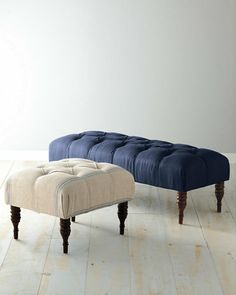 "Julian Tufted Ottoman and Bench Bench size: 18"" H x 49 1/2"" W x 20"" D"