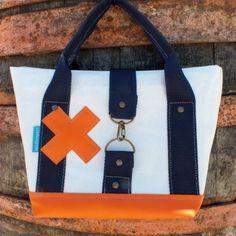 Mini handbag naranja