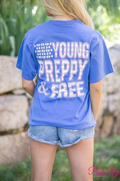 Jadelynn Brooke Young, Preppy, And Free Pocket Tee