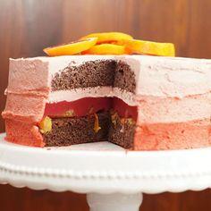 Heute bekommt ihr noch das Innere meiner Blutorangen-Schoko Torte im Ombré Style zu sehen. Es war sooo lecker fruchtig. 😍  Eure Sarah 😙  #lecker #food #foodblog #bakelove #chocolate #foodgasm #instafood #foodporn #foodpic #rezepte #recipes #foodie #foodstagram #cake #foodoftheday #instapic #instagood #orange #backen #choco #ombre #rezeptebuchcom @rezeptebuchcom #tasty #baked #torten #winter #bakery #ichliebeFoodblogs @ich.liebe.foodblogs #FoodgasmDE @FoodgasmDE #saison
