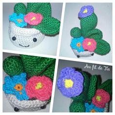 Cactus Puic Pick crochet, tuto Me in my Castle