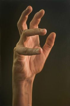Hand oil painting by Javier Arizabalo