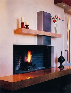Contemporary Living Room fireplace - Find more amazing designs on Zillow Digs!
