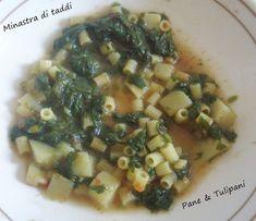 Minestra di taddi - ricetta siciliana. A volte la nostalgia di vecchi piatti riaffiora e così, con quel velo nostalgico si realizzano vecchi piatti.