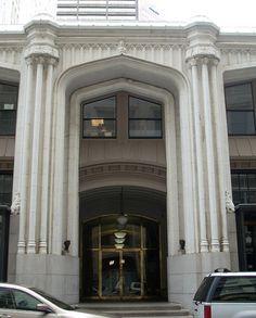 Walton St. entrance, Healey Building, Downtown Atlanta, Georgia  Photo by Jeff Clemmons