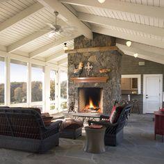 9,000 Enclosed Porch Home Design Design Ideas & Remodel Pictures   Houzz