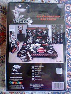 Bed duvet Duvet Bedding, Sharks, Rugby, Down Comforter Bedding, Shark, Coverlet Bedding, Football