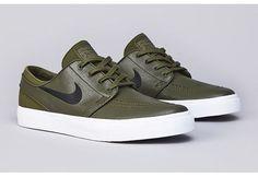 """Nike SB Zoom Stefan Janoski Leather """"Legion Green"""""""