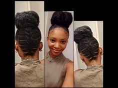 Trending: Elastic Cornrow Styles for Natural Hair [4 Tutorials] | Black Girl with Long Hair