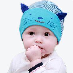 Spirited Baby Boy And Girl Hats Cute Baby Cartoon Cat Ear Cap Spring And Summer Travel Baseball Caps Snapback Newborn Photography Props Boys' Clothing