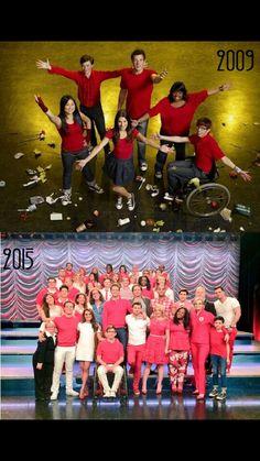 Glee ce n'est pas ce genre de série qui ne sert qu'à nous divertir. Lorsque que la série a commencé je n'avais que 10 ans. Je n'étais qu'une gamine encore en primaire, pas très tolérante au vu des différences, qui aimait bien foutre la merde avec les gens. Puis j'ai découvert Glee. J'ai suivi toutes leurs aventures, de Quinn qui tombe enceinte jusqu'à la transformation physique de Beist, en passant par le mariage de Burt et Carole, les problèmes de coeur de Rachel, de Kurt, Santana, Quinn…