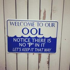 """There is no """"P"""" in our OOL"""