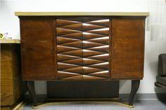 Mid Century Italian Bar Cabinet by Osvaldo Borsani For Sale   Antiques.com   Classifieds