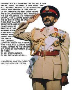 Haile Selassie King of Kings Lord of Lords lion of Judah Jah Bless