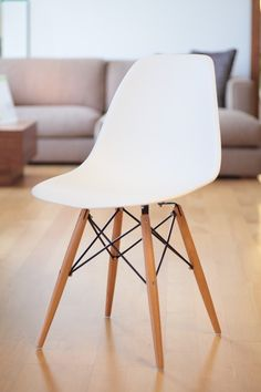 chaoscollection | Rakuten Global Market: Eames DSW PP polypropylene white shell Chair dining chair