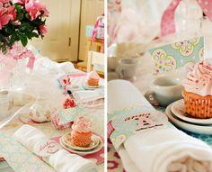 little girls vintage tea birthday party - Sweet Muffin Suite