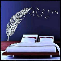 Flying Feather Wall Arts Sticker DIY Home Decoration Decal Stickers for Living Room Bedroom Features Product name wall sticker Material PVC Size cm before installation Color black white brown Made Kids Room Wall Stickers, Kitchen Wall Stickers, Wall Decor Stickers, Brown Decor, White Decor, Living Room White, Living Room Decor, Living Rooms, Best Bedroom Colors