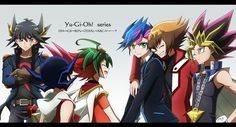 I'm currently watching Yugioh vrains and I really miss the Arc V characters (T ^ T). Yu Gi Oh 5d's, Yo Gi Oh, Me Me Me Anime, Anime Love, Anime Guys, Yu Gi Oh Zexal, Yugioh Yami, Yugioh Collection, Otaku