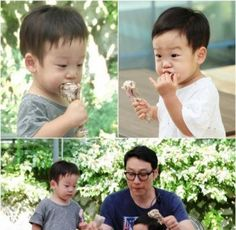 Lee Hwi Jae's twins  show their hearty appetites in still cuts from 'Superman is Back' | allkpop