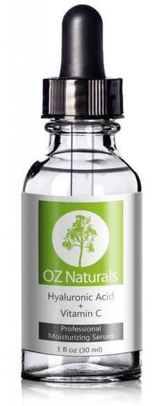 OZ Naturals - THE BEST Hyaluronic Acid Serum For Skin - Clinical Strength Anti Aging Serum - Best Anti Wrinkle Serum With Vitamin C + Vitamin E. Our Customers Call It A Facelift In A Bottle