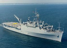 """USS RALEIGH LPD-1 -- """"My Ship"""" - I served on board this ship during the Vietnam War Era.  She was a beautiful lady."""