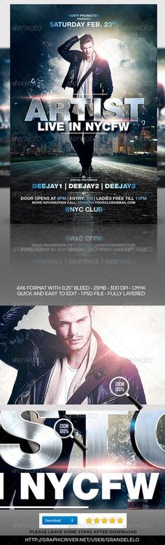 Trance Music Flyer Template Music flyer, Trance music and Flyer - music flyer template