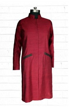 Long Sherwani: The Luxury Label's Claret Collection for #indianofficewear #indianworkwear #Indianofficefashion #indianformals