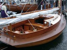 wooden sailboat | John's Snapshots from the 2004 Port Townsend Wooden Boat Festival