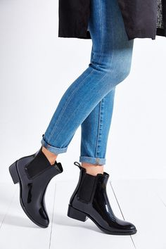Keep your feet dry with Jeffrey Campbell's stormy rain boots! Get them at ShopStyle!