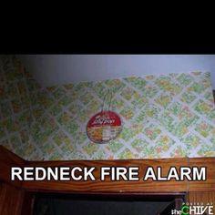 LOL...thinking this should read TEXAS fire alarm.