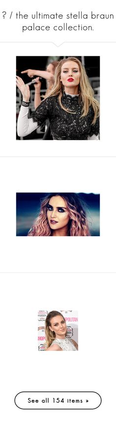 """""""◈ / the ultimate stella braun palace collection."""" by i-ran-away ❤ liked on Polyvore featuring perrie, perrie edwards, little mix, photos, pictures, beauty products, makeup, face makeup, palette makeup and people"""