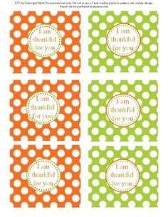 Welcome to Schoolgirl Style! I created the most fabulous Thanksgiving party unit called Thankful for Thanksgiving! These tags are a part of that. Christmas Thank You Gifts, Fall Gifts, Thanksgiving Parties, Thanksgiving Decorations, Happy Thanksgiving, School Gifts, School Fun, School Stuff, Holiday Treats
