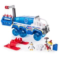 Paw Patrol Snow Rescue - Arctic Terrain Vehicle Rescue Set with Lights and Sounds – Wal-Mart Exclusive