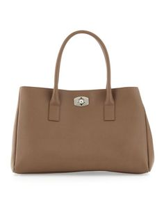 Appaloosa Large East-West Tote, Taupe by Furla at Last Call by Neiman Marcus.