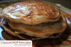 Semi Homemade Mom: Copycat IHOP Pancakes