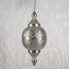 Lámpara colgante MARRAKESH plata #iluminacion  #decoracion #interiorismo