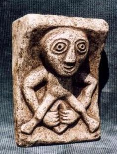 Sheel na gig Celtic fertility goddess of death and rebirth 11th Century